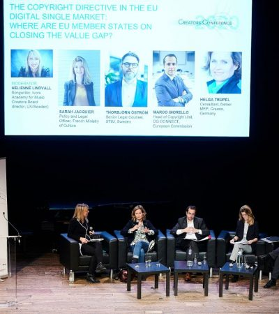 European creators call for an ambitious and faithful implementation of the Copyright Directive on national level at ECSA's Creators Conference