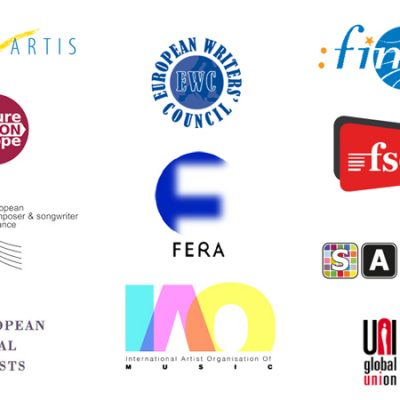 European authors and performers support the Cultural and Creative Industries' Intergroup