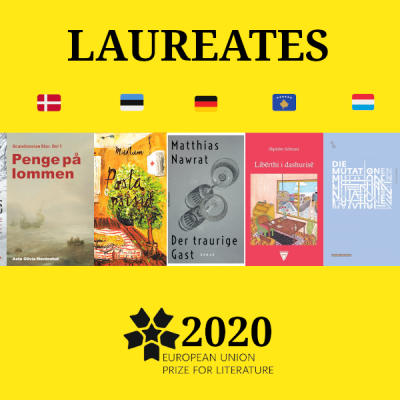 EUROPEAN UNION PRIZE FOR LITERATURE ANNOUNCES 2020 LAUREATES