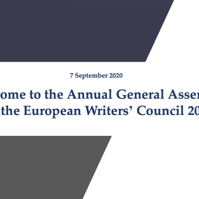 The EWC Annual General Meeting 2020 was successfully held online