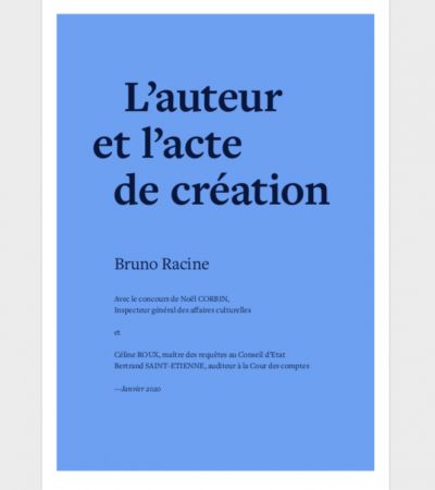 France: The Racine Report offers 23 recommendations