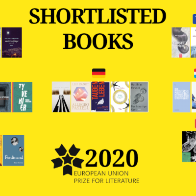 47 writers from 13 countries: the Europe Union Prize for Literature Shortlist!