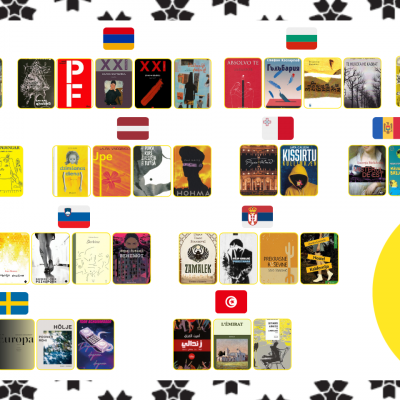 EUROPEAN UNION PRIZE FOR LITERATURE ANNOUNCES 2021 SHORTLIST!