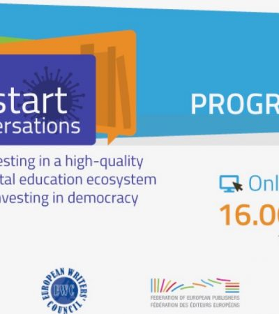 RE:START CONVERSATIONS 2: Investing in a high-quality digital education ecosystem is investing in democracy